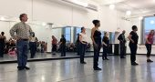 Adult Tap Class performs Bad Bad Leroy Brown