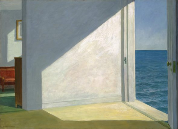"""Edward Hopper, """"Rooms by the Sea,"""" 1951. From the collection of Yale University Art Gallery."""