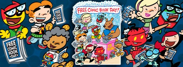 Free Comic Book Day is this Saturday, May 7. (Picture by Art Baltazar, courtesy of www.freecomicbookday.com)