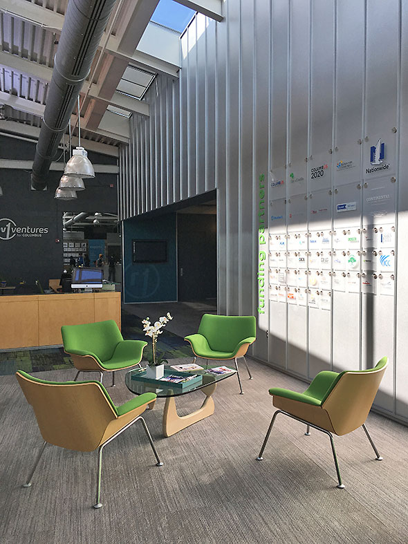 lounge at Rev 1