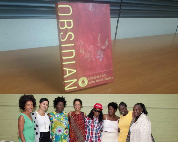 "A launch event for the literary journal ""Obsidian — Literature and Arts in the African Diaspora"" featuring work from the 2014 Antioch College symposium ""Call & Response"" will be held this weekend. (Photos courtesy of ""Obsidian"")"