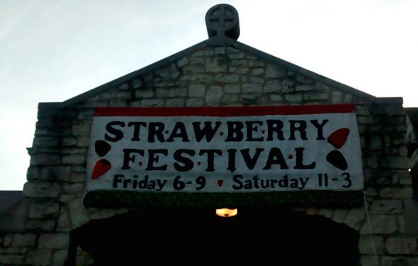 Village Night of the Strawberry Festival was a fun-filled success.