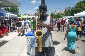 Yellow Springs Street Fair: Blue notes, blue skies