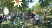 Art On the Lawn will return to the village on Aug. 12. (News archive photo by Diane Chiddister)