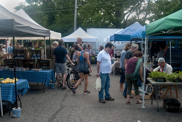 The Farmers Market improves the health and well being of the village.