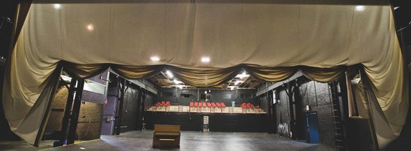 Several events will be held at the Foundry Theater, pictured. (Photo from antiochcollege.edu)