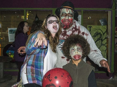 The 8th annual Yellow Springs Zombie Walk