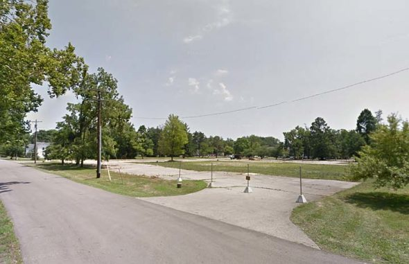 WSU property at street level. (via Google)