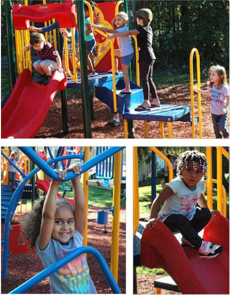 YSCCC kids visit JBCP playground (Photos by Audrey Hackett)