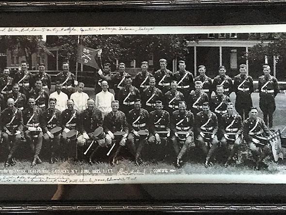 Grandpa Kelly's infantry unit