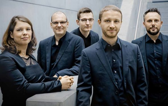 The Calmus Ensemble from Leipzig, Germany to perform on Sunday, Jan. 29, 7:30 p.m., at the First Presbyterian Church. (Submitted Photo)