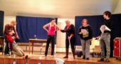 Local actors rehearse for the Ten Minute Play Festival, which will be held Jan. 27 and 28.