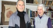 Longtime Yellow Springs residents Donna and Al Denman, a retired Antioch professor, recently started a scholarship at the college that will fund tuition and room and board for three students for the duration of their time at Antioch. The Denmans' gift is the first in the college's New Generations Scholarship Program. (Photo by Dylan Taylor-Lehman)
