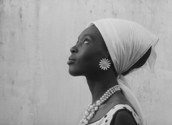 "A film still from the 1966 film ""Black Girl."""