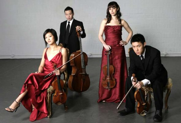 Chamber Music in Yellow Springs welcomes back the Parker Quartet for a concert on Sunday, March 12, 7:30 p.m., at the First Presbyterian Church. (Submitted Photo)
