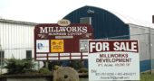MillWorks is up for sale. The 48,000 square-foot, four-acre business and industrial complex currently houses eight tenants, including several thriving local businesses. Longtime owners Rod and Ellen Hoover, Sandra Love and Sam Young are ready to sell after 25 years. (Photo by Audrey Hackett)