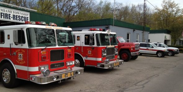 Miami Township Fire-Rescue is holding an open house this Saturday, noon to 2 p.m., at the fire station on Corry Street. (Photo via mtfr.org)