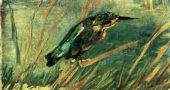 "Vincent van Gogh, ""The Kingfisher,"" 1886. (Via Wikiart)"