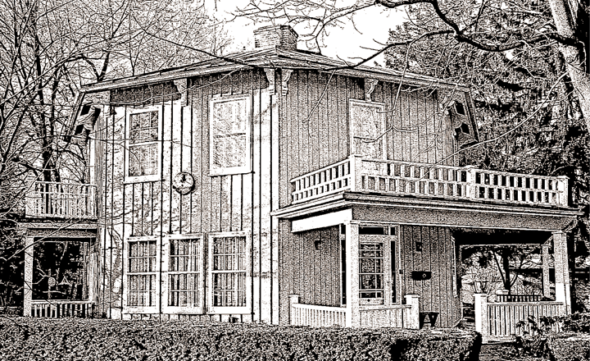 The village's Octagon House, at 111 W. Whteman St., will be open to the public through a tour presented by the Yellow Springs Historical Society. Come satisfy your curiosity about this elegant and unusual building on Sunday, from 1–5 p.m. (Submitted photo)