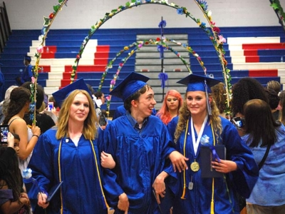 Step by step by step  — Commencements