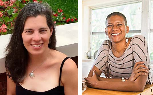 Former YSHS classmates Shuly Cawood, author of 'The Going and Goodbye,' and Denise Jacobs, author of 'Banish Your Inner Critic,' will talk about their new books at an event Saturday, July 1, at the Little Art Theatre, beginning at 1 p.m. Admission is free. (Submitted photos)