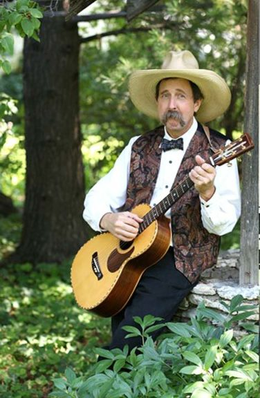 Folk music performer and Yellow Springs native Pop Wagner returns home next week for a concert with The Corndrinkers, a regionally based oldtime stringband, Thursday, July 20, at Little Art Theatre. Tickets for the 7 p.m. show are $15, available at the theater. (Submitted photo by Dale Hanson)