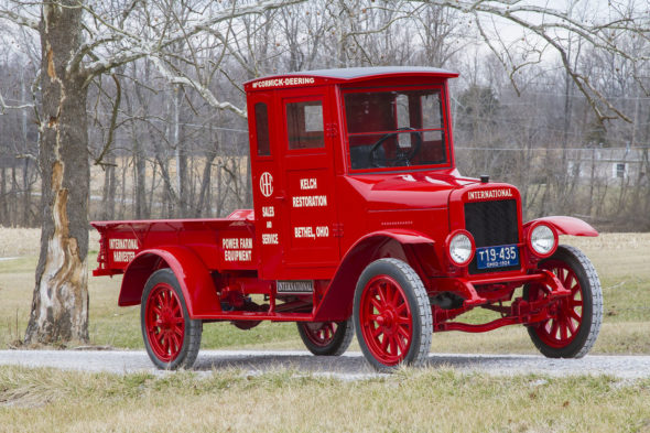 The 1924 International Harvester Red Baby, this year's featured vehicle.