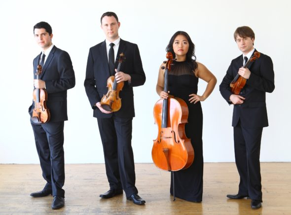The Calidore String Quartet will open the 2017–18 CMYS concert series on Oct. 8.