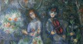 "Marc Chagall, ""Musicians,"" 1979 (Via Wikiart)"