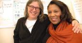 "Villagers Jennifer Berman and Jalyn Roe were the organizing forces behind last year's national conference on restorative justice, ""Healing Harms in Today's Troubled World."" (Photo by Diane Chiddister)"