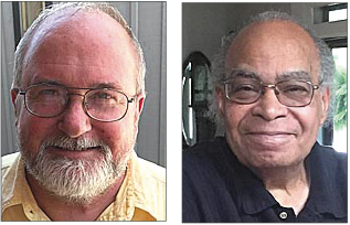 Miami Township Trustees:  Newcomer Don Hollister and incumbent Mark Crockett. (News file photos)