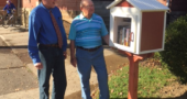 A new Little Free Library is now open to book-lovers just outside the YS United Methodist Church.