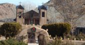 El Santuario de Chimayo, New Mexico. (Photo by Grant Hackett)
