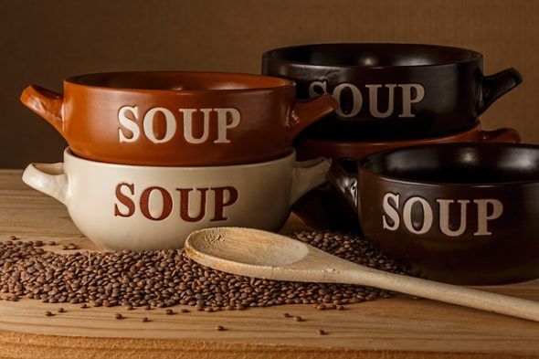 """First Presbyterian Church and Central Chapel AME Church will host """"Souper Bowl"""" events in February."""