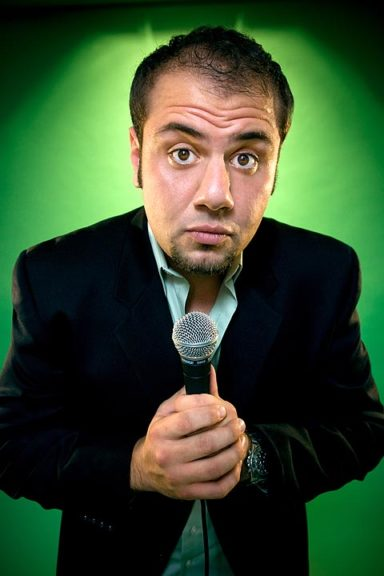 Arab-American standup comedian Mo Amer will be the featured performer for the Antioch School's annual Auction Gala event, Saturday, March 3, at Antioch College's Foundry Theater. (Submitted Photo)