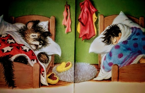 """And he dreamed his own dreams."" From ""Mister Dog: The Dog Who Belonged to Himself,"" by Margaret Wise Brown."