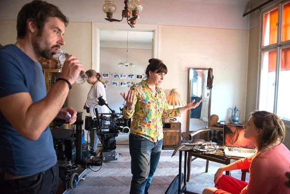 """Bosnian filmmaker Ines Tanovic is shown during the production of """"Our Everyday Life,"""" to be screened on Wednesday, April 4, at 7 p.m. at the Little Art Theatre. Tanovic will be present at the screening,which is funded by Wittenberg University. (Submitted photo)"""