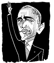 Obama Farewell, by Tom Bachtell