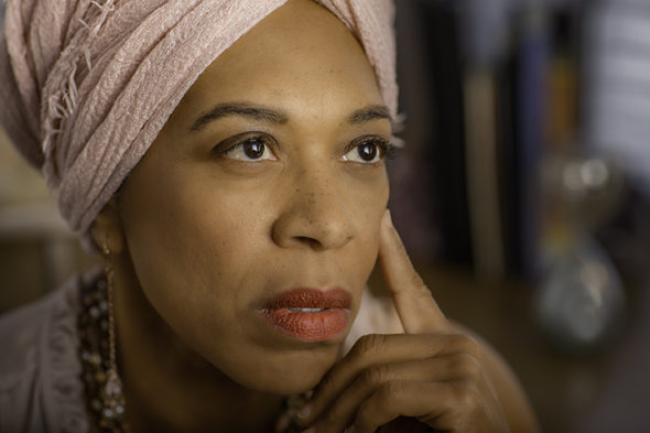 "Felicia Chappelle will perform her one-woman play, ""Interrupted Motherhood,"" at Central Chapel AME Church."