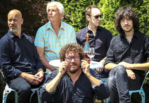 Legendary Dayton indie rock band Guided by Voices will headline this year's Springsfest. Front, from left: Bobby Bare, Jr. Rear: Kevin March, Robert Pollard, Doug Gillard and Mark Shue. (Submitted photo)