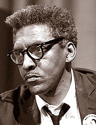 "The life of civil rights strategist Bayard Rustin is the focus of a series of regional events through Sept. 9, including four concert performances by the World House Choir, in collaboration with other area choral groups, of the oratorio ""Bayard Rustin: The Man Behind the Dream."" (Photo via Wikimedia, Library of Congress)"