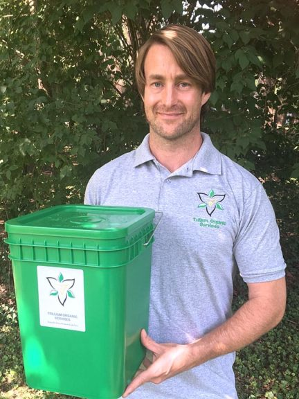 Matthew Lawson sees a treasure trove of biodiversity in rotting organic waste. His company, Trillium Organic Services, will soon offer curbside composting in the Village. (Submitted Photo )