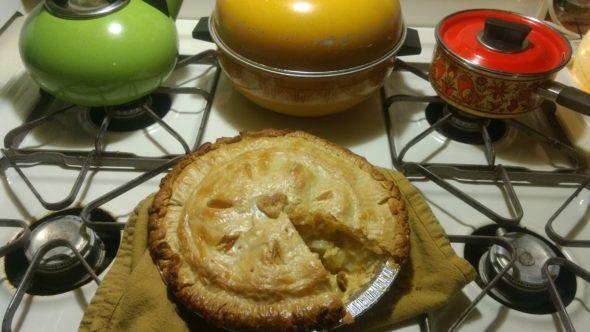 A savory — and soporific — potato pie.