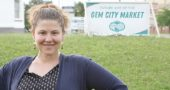 Lela Klein, who grew up in the village, is the executive director of Co-op Dayton, a nonprofit starting a cooperative grocery store in a food desert in West Dayton. Yellow Springs residents can aid the effort by becoming supporting or voting members, and by attending Co-op Fest Dayton from 5 p.m. to midnight on Friday, Oct. 19, at the Yellow Cab Tavern in Dayton. (Submitted Photo by Steve Bognar)