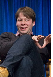 "Ike Barinholtz, writer, director and star of dark comedy/horror/political satire film ""The Oath,"" will present the film at the Little Art Theatre on Oct. 24, with his brother, Jon Barinholtz, who also stars in the film. The two will present a Q&A to accompany the screening, preceded by a wine and hors d'oeuvres hour at the Mills Park Hotel. The event is a fundraiser for the Little Art. (Photo submitted by Dominick Dusseault)"