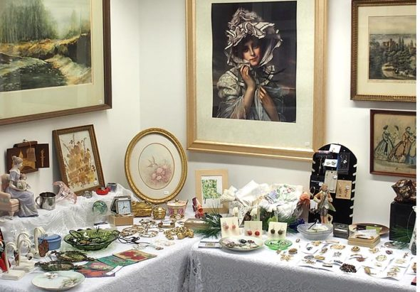The annual Holiday Art Jumble opens this Saturday at the Arts Council Community Gallery, 111 Corry St. The event features a wide variety of art, crafts, gifts and seasonal items at affordable prices. The Jumble runs through December 30. (submitted photo by Corrine Bayraktaroglu)