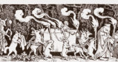 "Perhaps the most famous association with Mahler's Symphony No. 1 is that of the whimsical engraving ""The Hunter's Funeral Procession,"" cut in 1850 by Austrian artist Moritz von Schwind."
