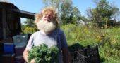 Terry Snyder at Heartbeat Farms. (Photo from heartbeatgardens.wordpress.com)