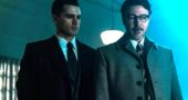 "Michael Malarkey, left, as Captain Michael Quinn in the new drama ""Project Blue Book,"" which premieres on Jan. 8 on the History Channel. (Photo courtesy of Ed Araquel/History Channel)"