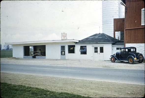 This photo from 1960 shows the expansion of the original dairy store. (Submitted photo)